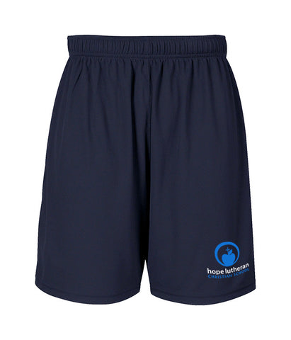 HOPE LUTHERAN GYM SHORTS, ADULT