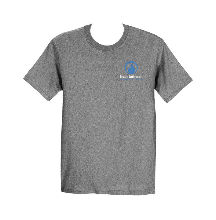 HOPE LUTHERAN GYM T-SHIRT, BAMBOO, ADULT