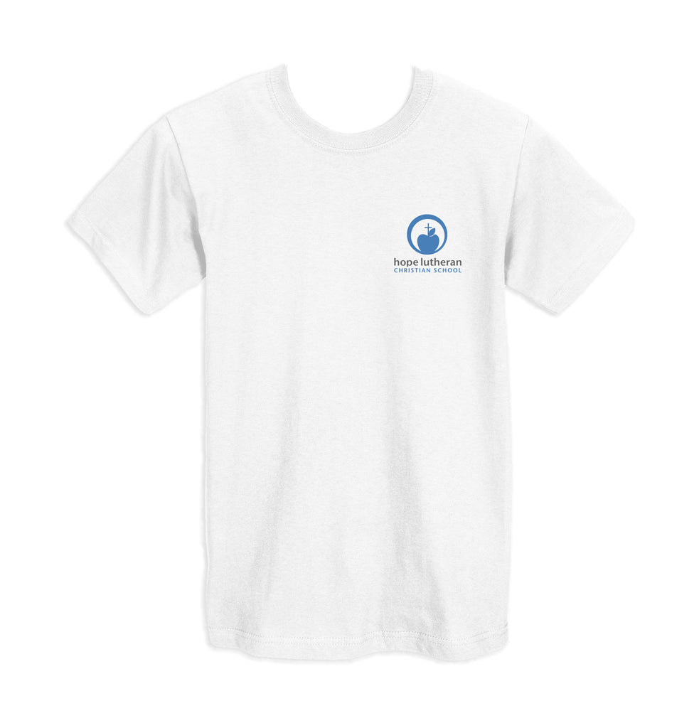 HOPE LUTHERAN GYM T-SHIRT, COTTON, YOUTH