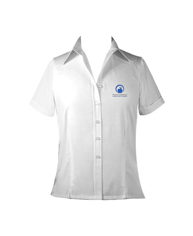 HOPE LUTHERAN LADIES BLOUSE, SHORT SLEEVE