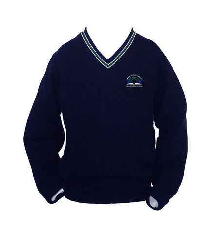 ISLAND PACIFIC PULLOVER WITH PIPING, SIZE 34 TO 46