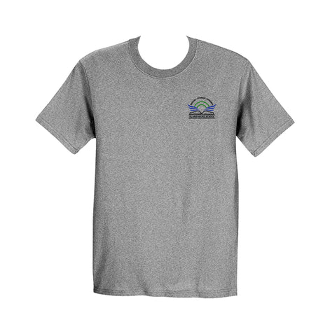 ISLAND PACIFIC GYM T-SHIRT, SHORT SLEEVE, COTTON, ADULT