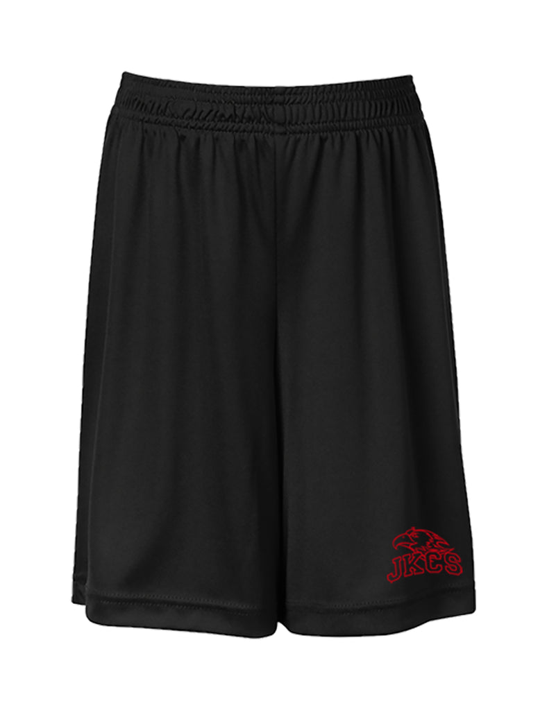 JOHN KNOX GYM SHORTS, WICKING, ADULT