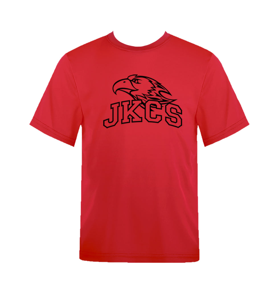 JOHN KNOX GYM T-SHIRT, COTTON, ADULT
