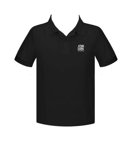 JOHN KNOX GOLF SHIRT, UNISEX, SHORT SLEEVE, ALL COLOURS, YOUTH