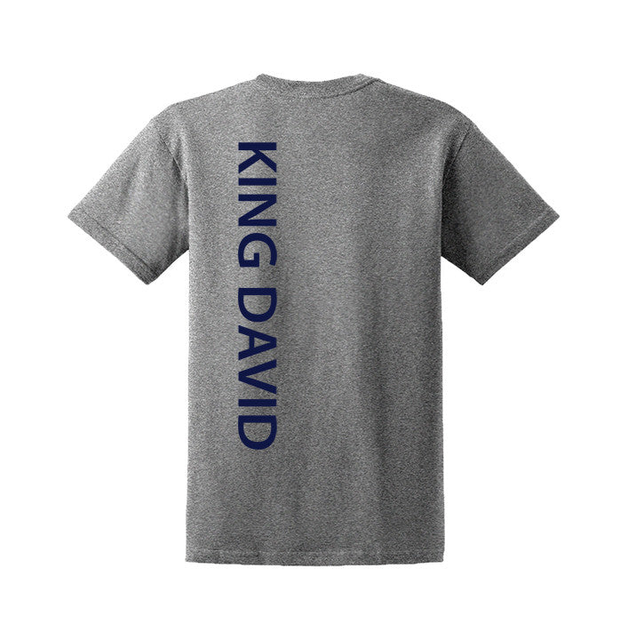 KING DAVID GYM T-SHIRT, COTTON, ADULT
