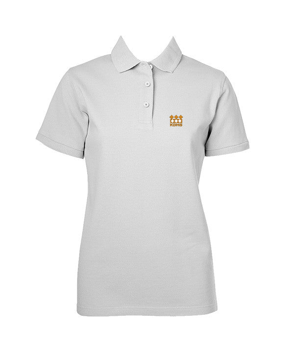 KING DAVID GOLF SHIRT, GIRLS, SHORT SLEEVE, ADULT