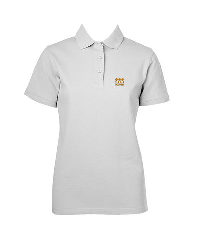 KING DAVID GOLF SHIRT, GIRLS, SHORT SLEEVE, YOUTH