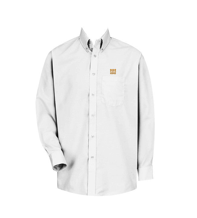 KING DAVID DRESS SHIRT, UNISEX, LONG SLEEVE, YOUTH