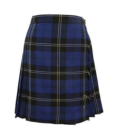 TARTAN KILT WITH BUCKLE, REGULAR BACK