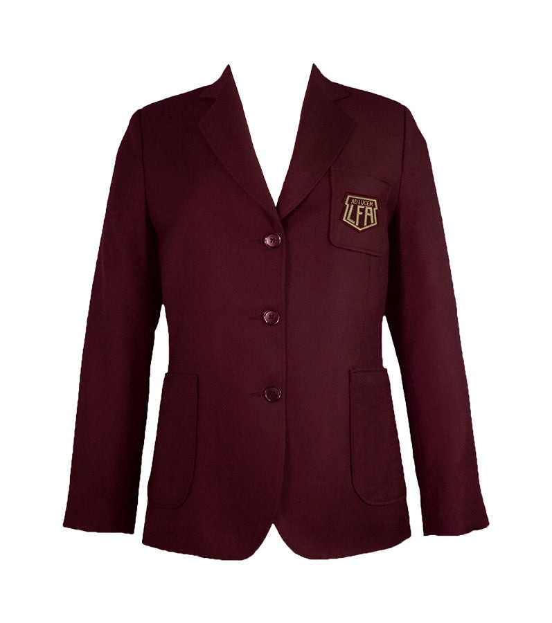 LITTLE FLOWER ACADEMY BLAZER, PLUS SIZE, LADIES