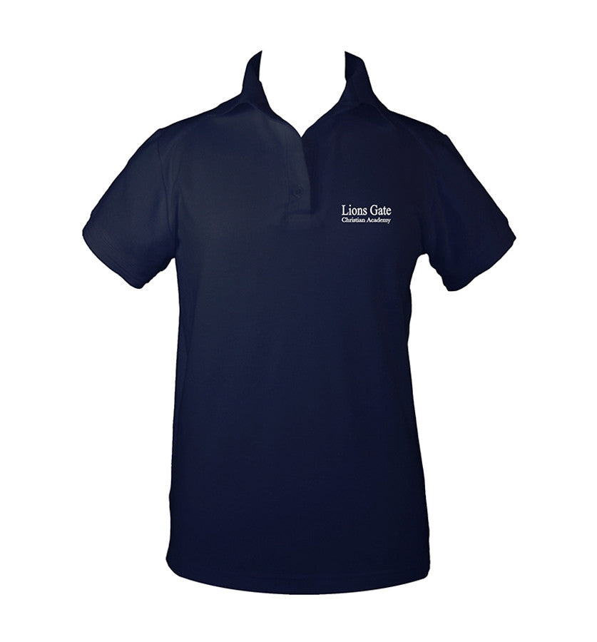 LIONS GATE GOLF SHIRT, GIRLS, YOUTH