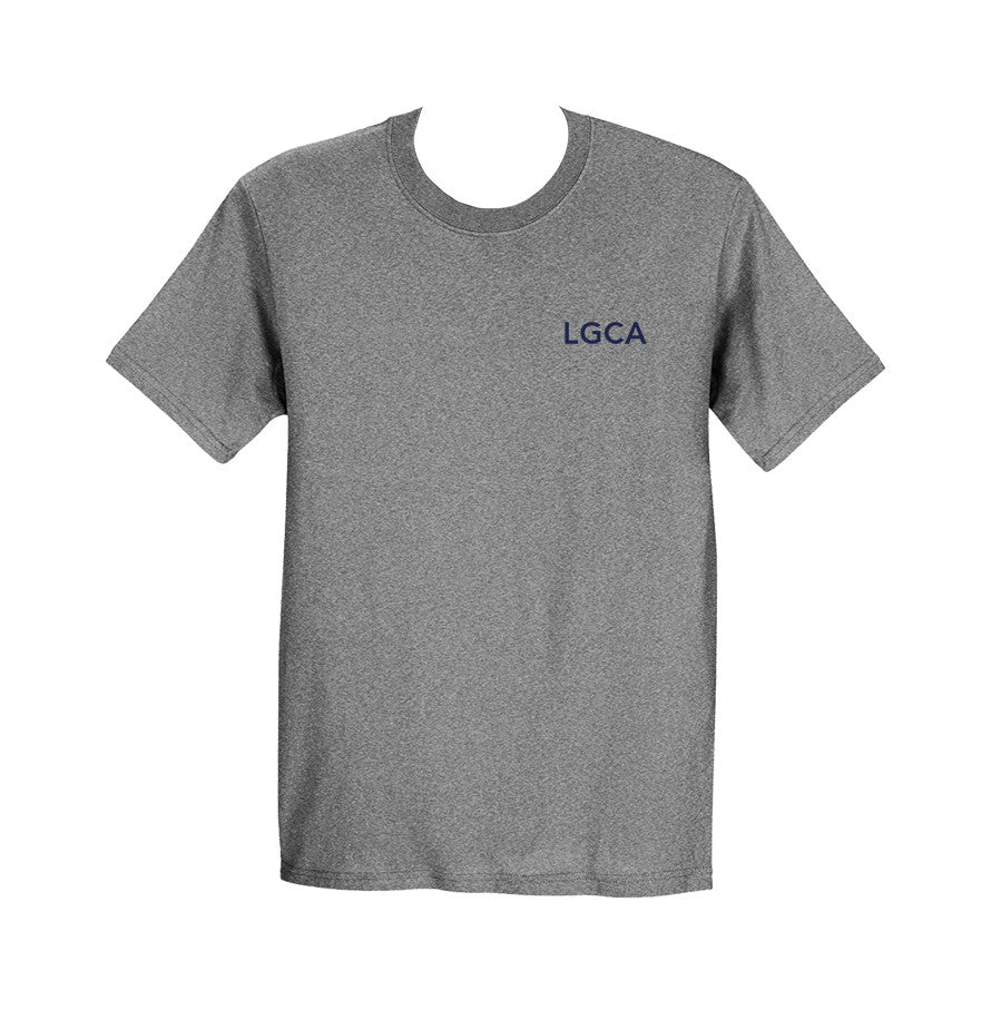 LIONS GATE GYM T-SHIRT, COTTON, ADULT