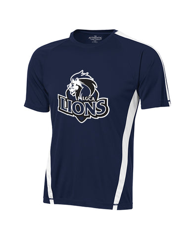 LIONS GATE GYM T-SHIRT, WICKING, ADULT