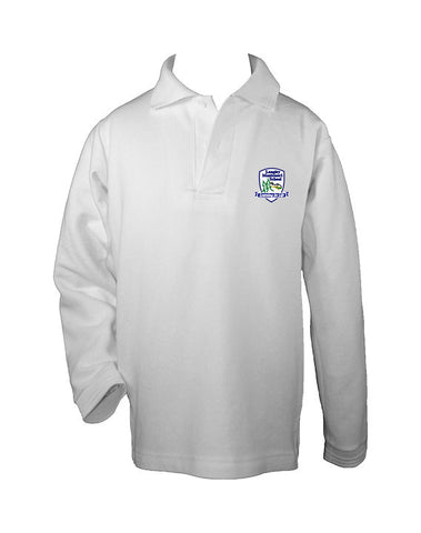 LANGLEY MONTESSORI GOLF SHIRT, UNISEX, LONG SLEEVE, CHILD