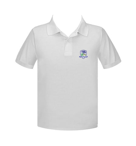 LANGLEY MONTESSORI GOLF SHIRT, UNISEX, SHORT SLEEVE, ADULT
