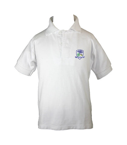 LANGLEY MONTESSORI GOLF SHIRT, UNISEX, SHORT SLEEVE, CHILD