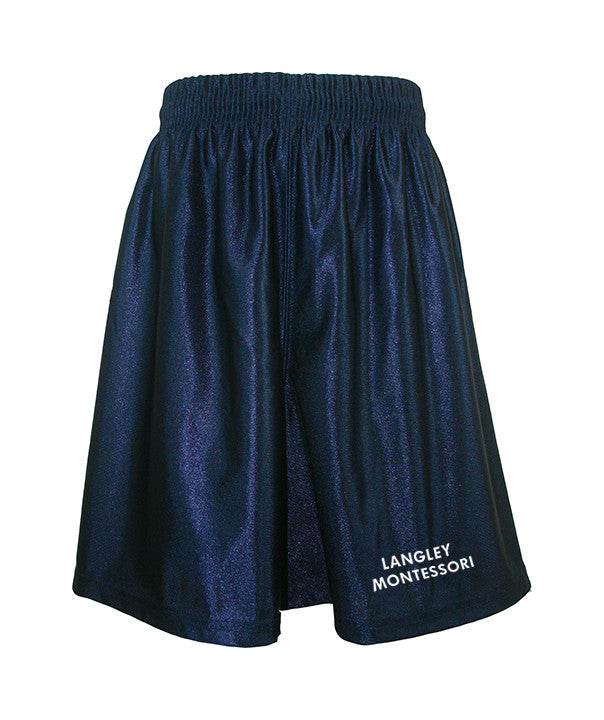 LANGLEY MONTESSORI GYM SHORTS, ADULT