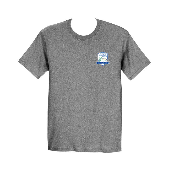 LANGLEY MONTESSORI GYM T-SHIRT, ADULT