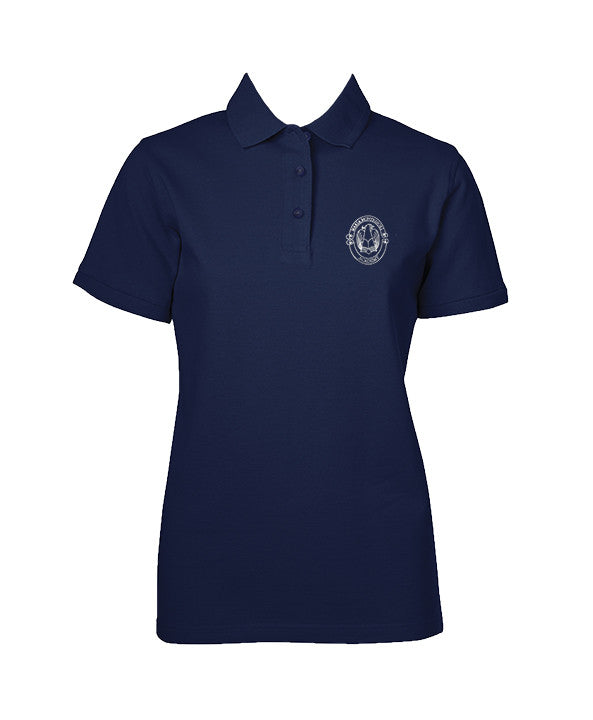 MARIA MONTESSORI GOLF SHIRT, GIRLS, SHORT SLEEVE, YOUTH