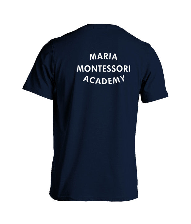 MARIA MONTESSORI GYM T-SHIRT, COTTON, ADULT