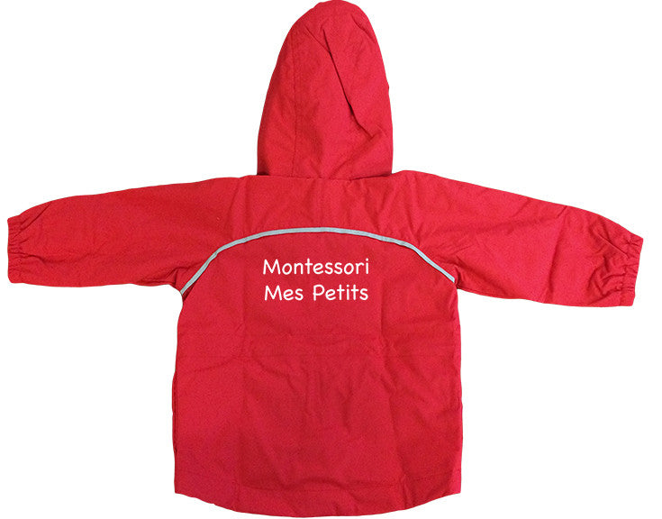 MONTESSORI MES PETITS RAIN SUIT JACKET, WATERPROOF