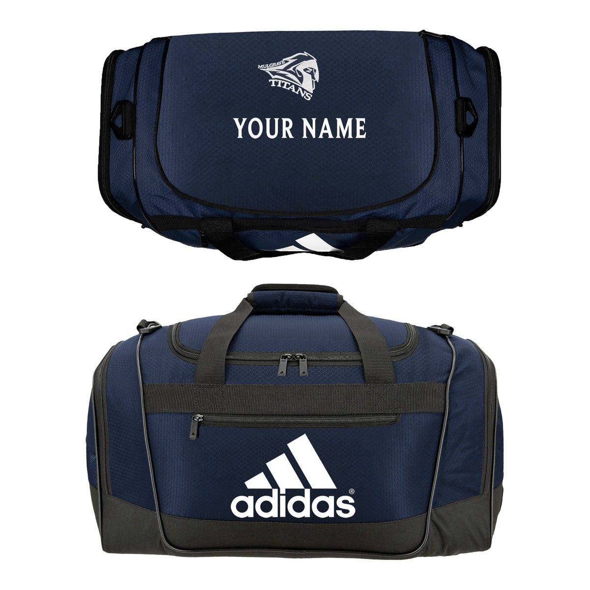 MULGRAVE ADIDAS DUFFLE GYM BAG