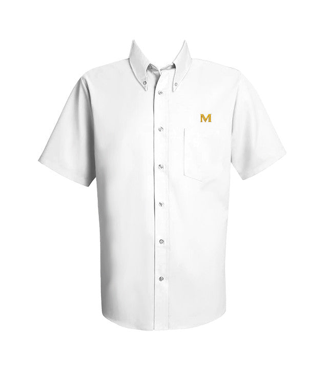 MULGRAVE DRESS SHIRT, UNISEX, SHORT SLEEVE, YOUTH