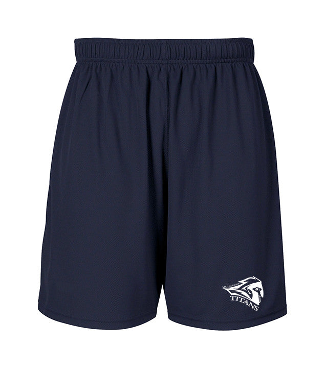 MULGRAVE GYM SHORTS, WICKING, ADULT