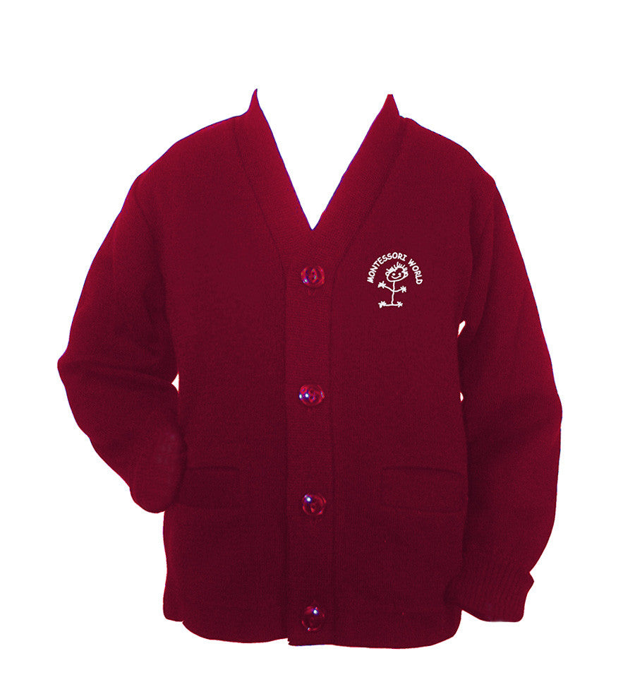 MONTESSORI WORLD CARDIGAN