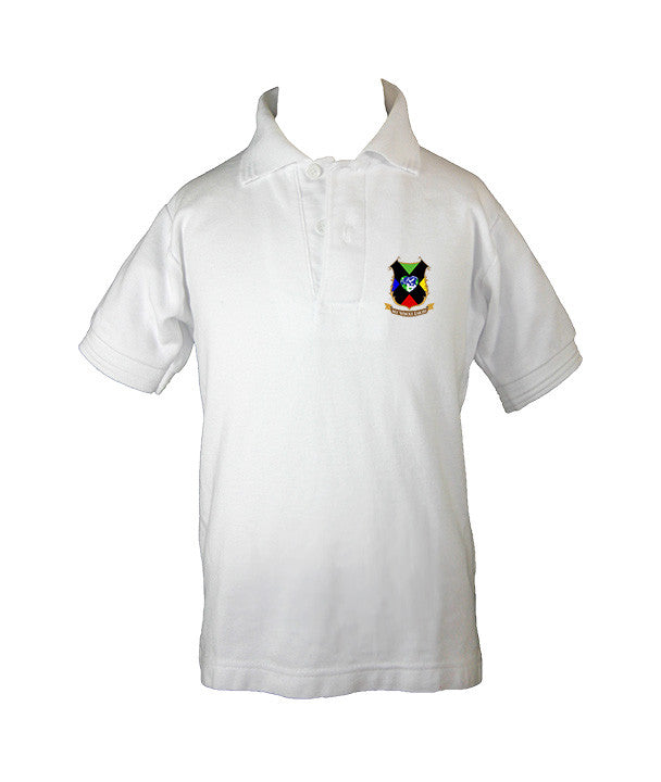 MY WHOLE EARTH GOLF SHIRT, UNISEX, SHORT SLEEVE, CHILD