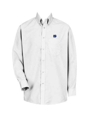 NOTRE DAME DRESS SHIRT, LONG SLEEVE, MENS
