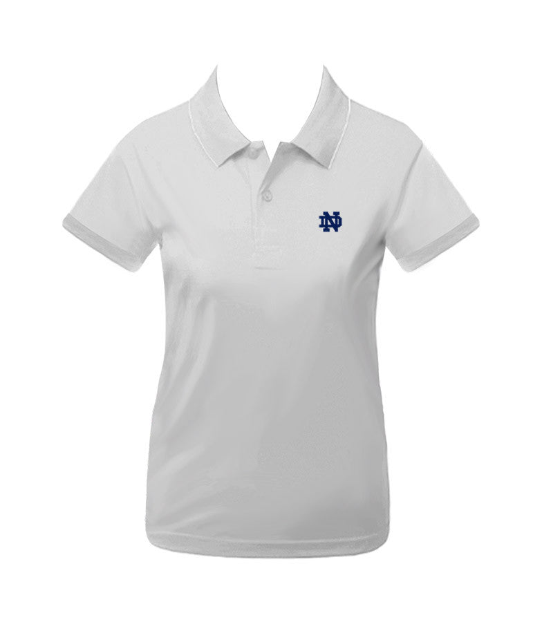 NOTRE DAME GOLF SHIRT, GIRLS, YOUTH