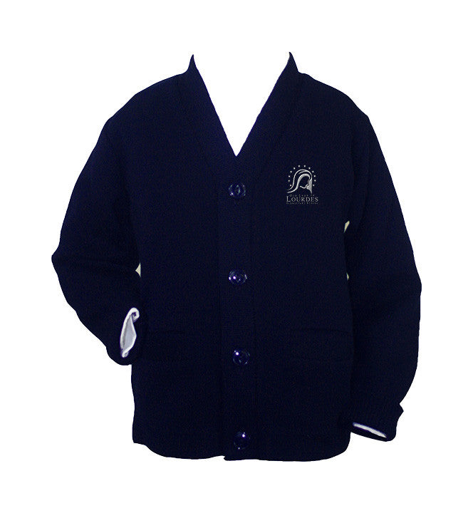 OUR LADY OF LOURDES CARDIGAN, YOUTH