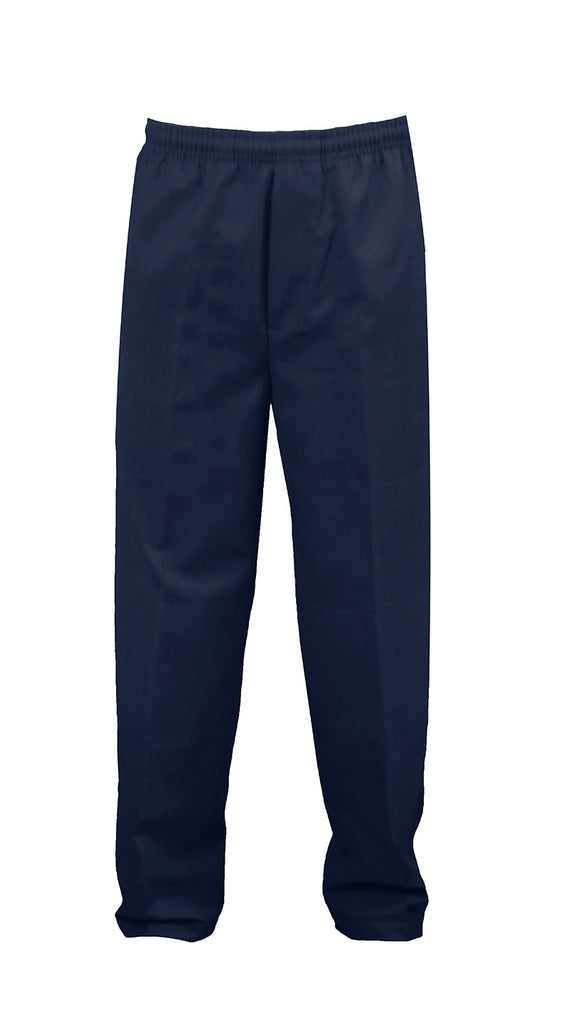 NAVY RUGBY PANTS, POLY/COTTON, CHILD