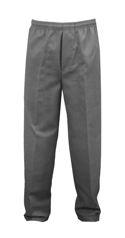 GREY UNISEX RUGBY PANTS, POLY/COTTON, CHILD