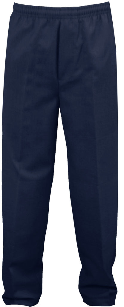 TEST NAVY RUGBY PANTS, POLY/COTTON TODDLER