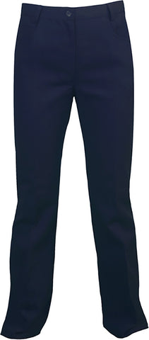 NAVY BOOT CUT PANTS, GIRLS  <br><strong> FINAL SALE</strong>