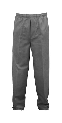 GREY UNISEX RUGBY PANTS, POLY/COTTON, ADULT
