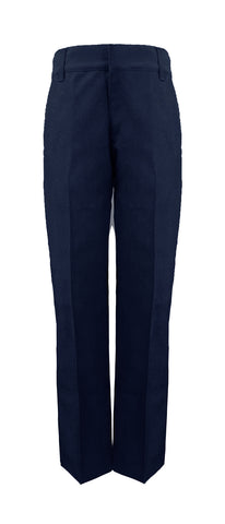 NAVY GIRLS' ADJUSTABLE WAIST PANTS, POLY/COTTON, UP TO SIZE 32