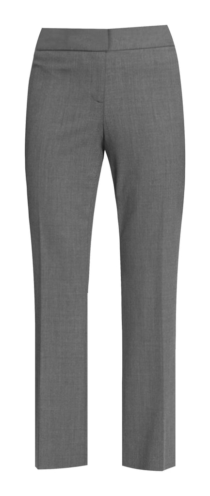 GREY LADIES STRAIGHT LEG PANTS, UP TO SIZE 26
