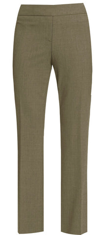 KHAKI LADIES STRAIGHT LEG PANTS, SIZE 27 AND UP