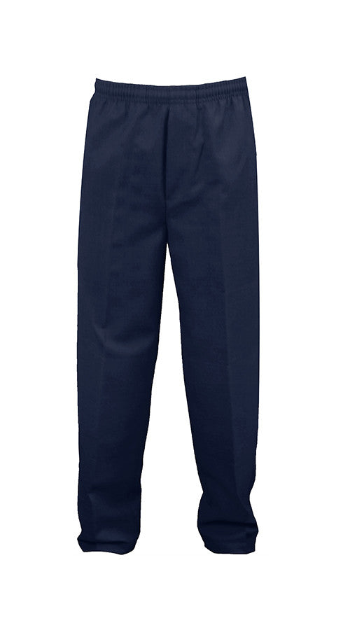 NAVY RUGBY PANTS, POLY/COTTON, YOUTH