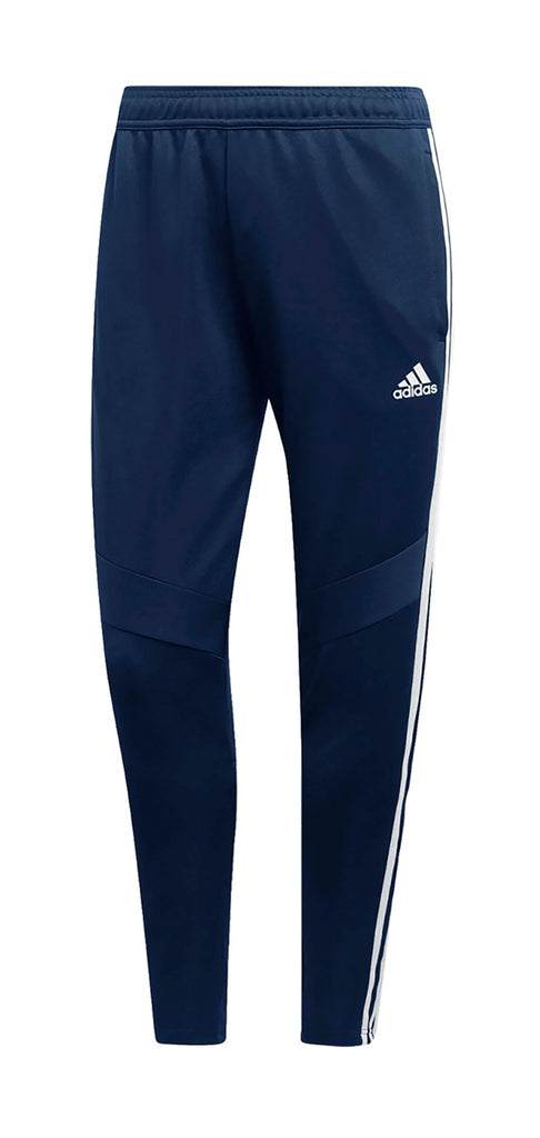DARK BLUE TRACK PANTS, POLYESTER DOUBLE KNIT, ADULT