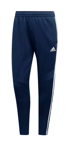 DARK BLUE TRACK PANTS, POLYESTER DOUBLE KNIT, YOUTH