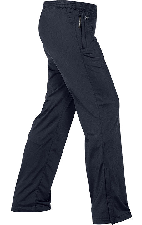 NAVY TRACK PANTS, KNIT, ADULT