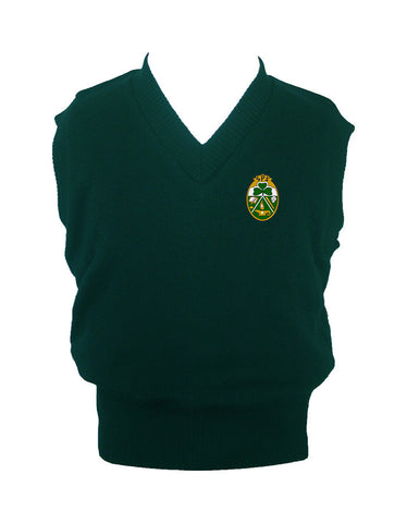 ST. PATRICK'S VEST, UP TO SIZE 42