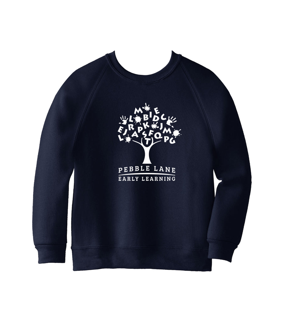 PEBBLE LANE CREWNECK SWEATSHIRT, CHILD
