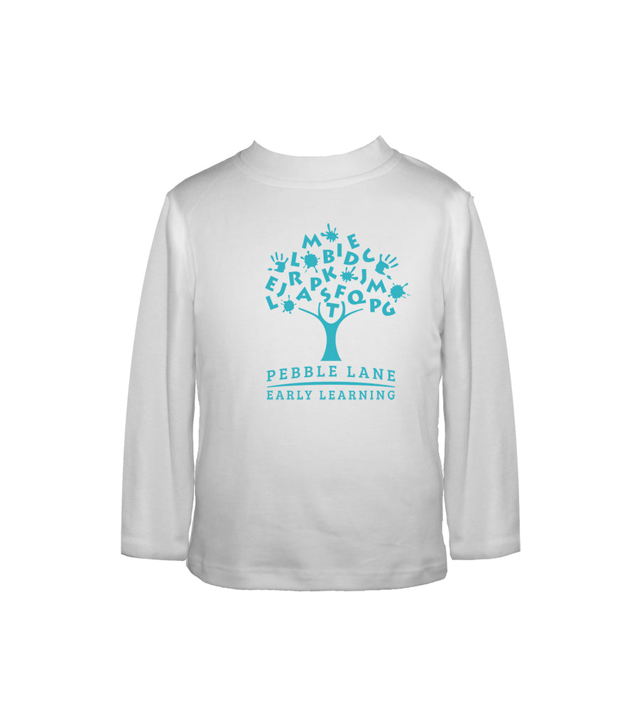 PEBBLE LANE INTERLOCK SHIRT, LONG SLEEVE, CHILD