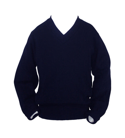 NAVY PULLOVER, YOUTH